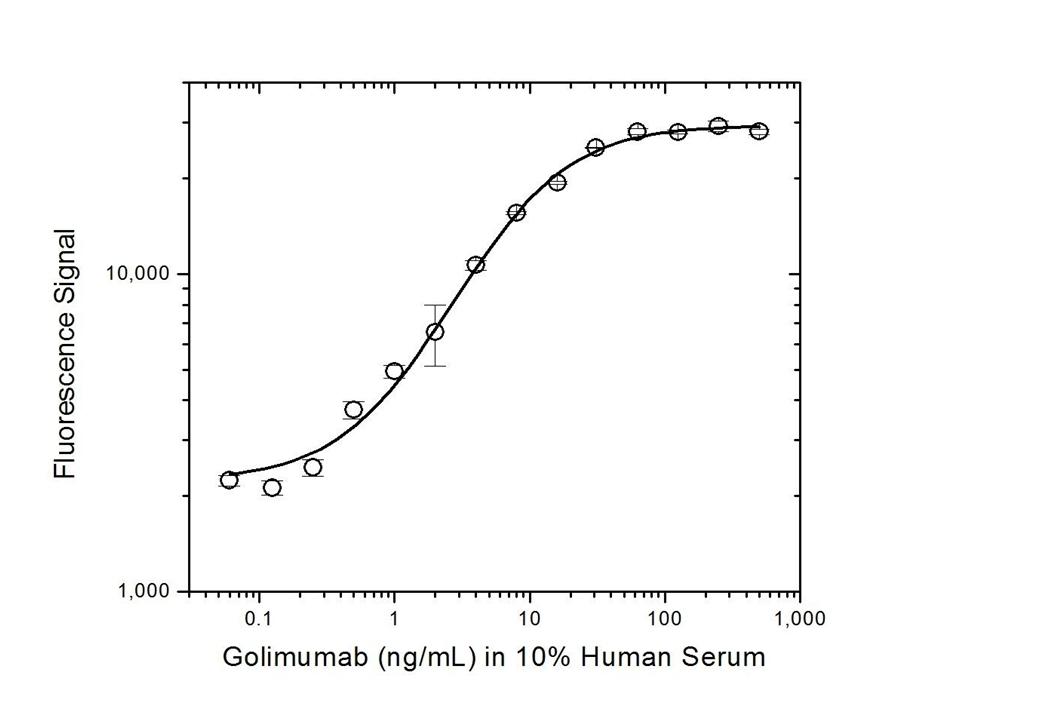 Anti Golimumab Antibody, clone AbD20897_hIgG1 thumbnail image 3