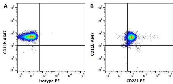Anti Human CD221 Antibody, clone 1H7 gallery image 1