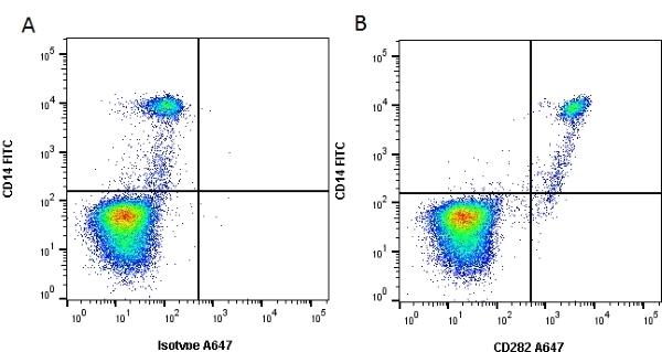 Anti Human CD282 Antibody, clone 11G7 gallery image 1