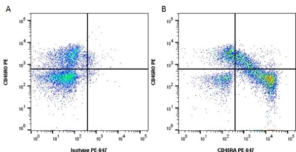 Anti Human CD45RA Antibody, clone F8-11-13 thumbnail image 2