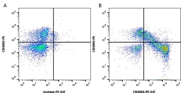 Anti Human CD45RA Antibody, clone F8-11-13 thumbnail image 3