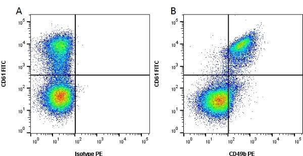 Anti Human CD49b Antibody, clone 16B4 thumbnail image 1