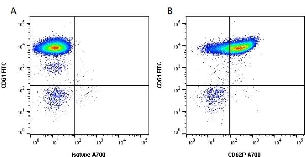 Anti Human CD62P Antibody, clone AK-6 thumbnail image 1