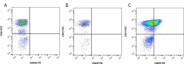 Anti Human CD62P Antibody, clone Psel.KO.2.5 thumbnail image 1