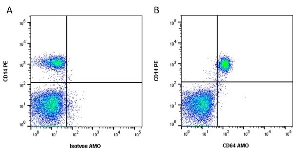 Anti Human CD64 Antibody, clone 10.1 thumbnail image 1