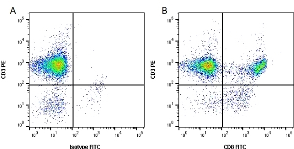 Anti Human CD8 Antibody, clone RPA-T8 gallery image 1