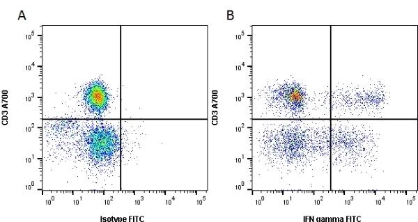 Anti Human Interferon Gamma Antibody, clone D9D10 gallery image 1