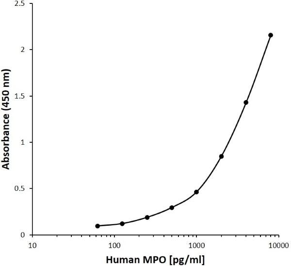 Anti Human Myeloperoxidase Antibody, clone D08-8G5 gallery image 1