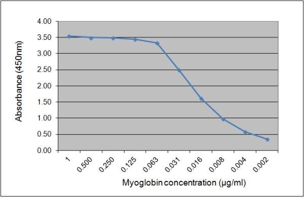 Anti Human Myoglobin Antibody, clone 164.5B10 gallery image 1