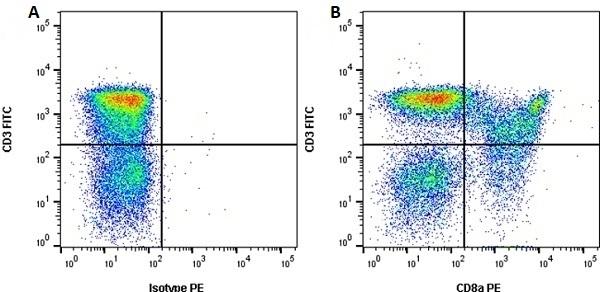 Anti Pig CD8 Alpha Antibody, clone 11/295/33 thumbnail image 3