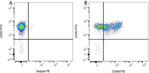 Anti Rat CD49d Antibody, clone MRalpha4-1 thumbnail image 2