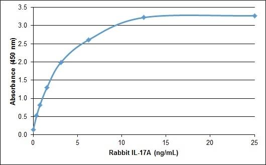 Recombinant Rabbit Interleukin-17A gallery image 1